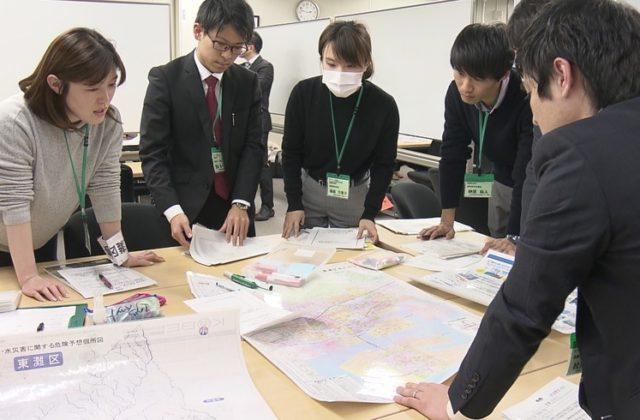震災の教訓を新人職員に継承 神戸市が研修で巨大地震に対応