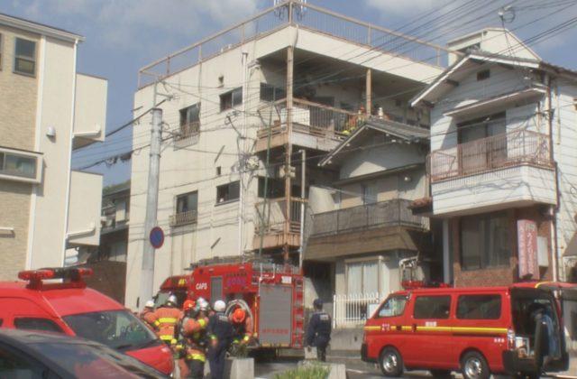 神戸市灘区のマンションで火事 女性の遺体が見つかる