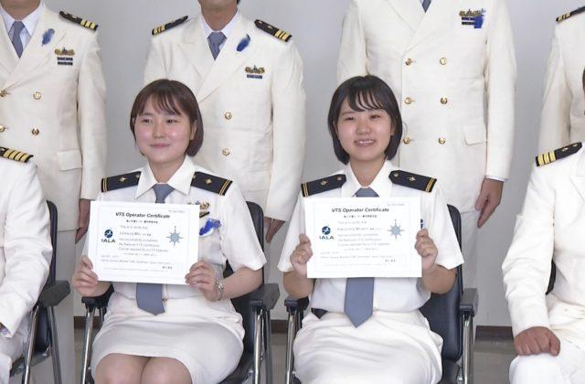 女性運用管制官2人デビュー 24時間海の安全を守る