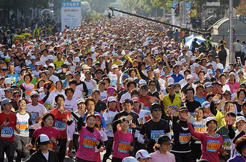 第1回神戸マラソン